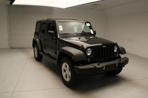 Pre-Owned 2014 Jeep Wrangler Unlimited  Four Wheel Drive Sport Utility